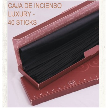 INCIENSO LUXURY EN CAJA, 40 STICKS
